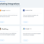 Wix - Marketing integrations